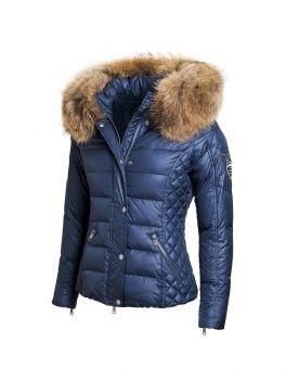 Shop Woman jacket | ROCKANDBLUE - Zora deep ocean