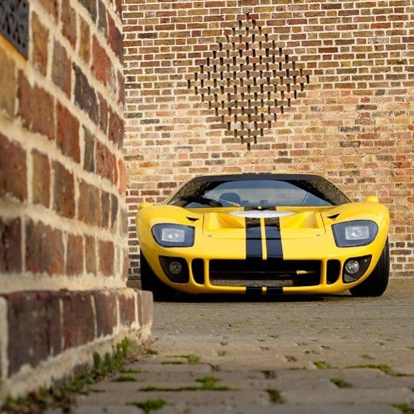 Ford GT40 #GT40P1027 - GT40 P/1027 was sent out for the Brussells Motor Show in 1966.