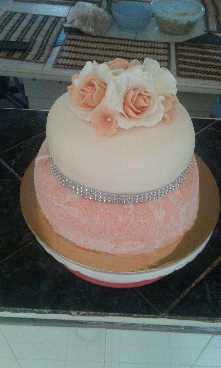 Csipkés torta