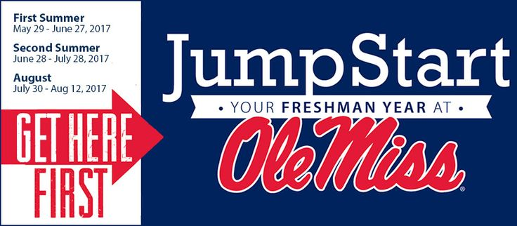 JumpStart Your Freshman Year at Ole Miss – The University of Mississippi #ole #miss #nursing #program http://arlington.nef2.com/jumpstart-your-freshman-year-at-ole-miss-the-university-of-mississippi-ole-miss-nursing-program/  # Get Here First. JumpStart your freshman year at Ole Miss! Get to know the Oxford scene! Get to know new people and make new friends! JumpStart Counselors are there for our students. UM Professors make learning fun! Become a part of our Ole Miss family! APPLY NOW! GET…