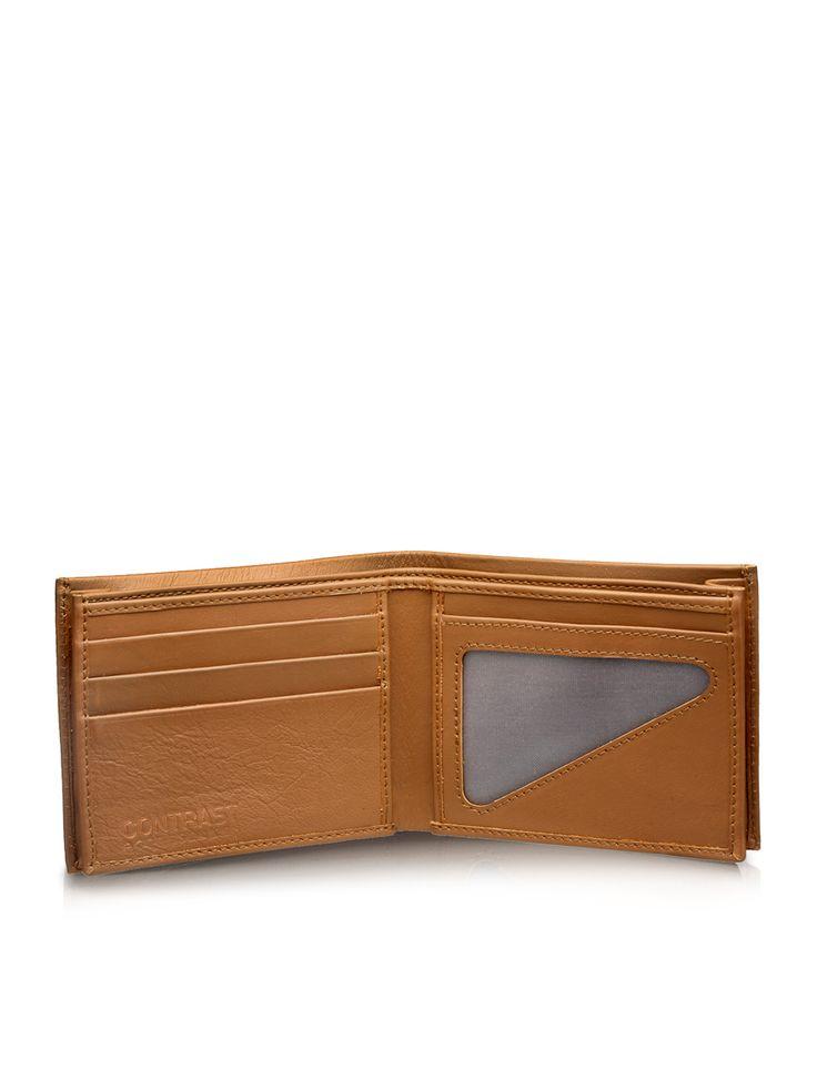Honey Brown Bi-Fold Wallet