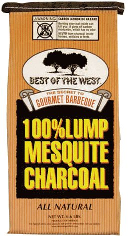 Best of the West 100% Lump Mesquite Charcoal