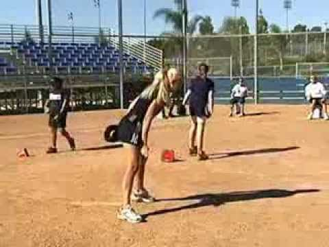 Softball Pitching Power Drills - YouTube