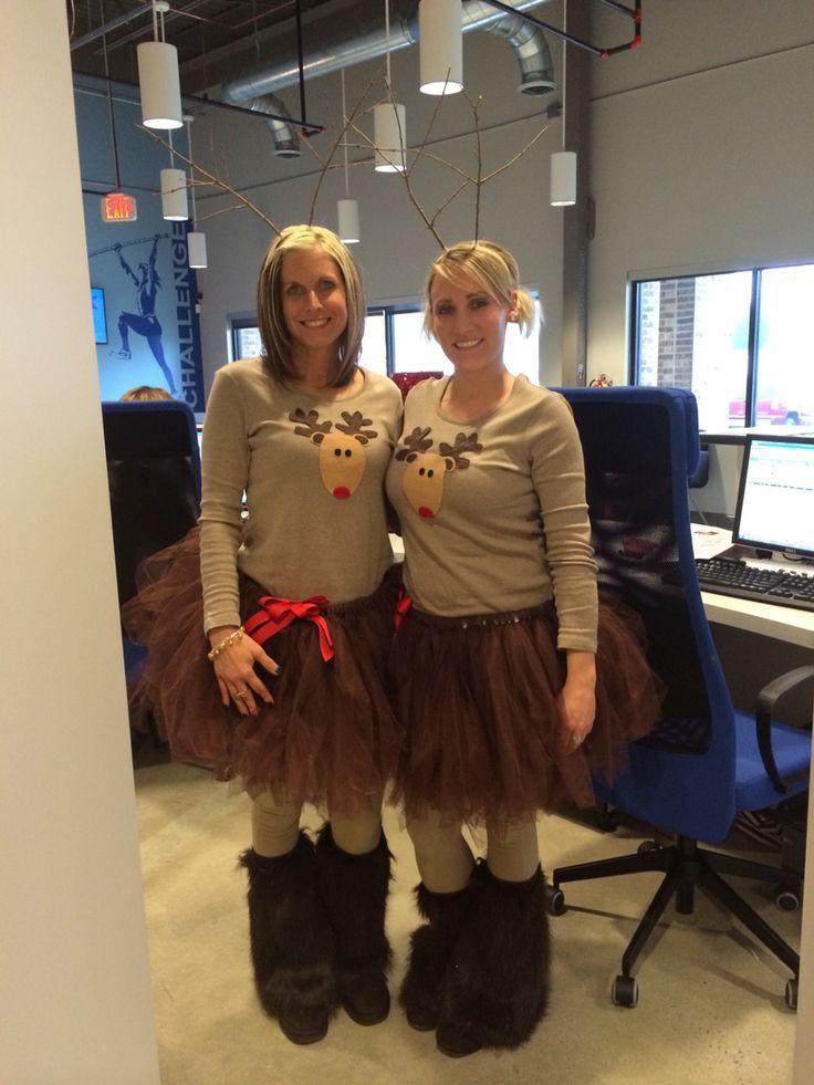 Cute tutu Rudolph costume !
