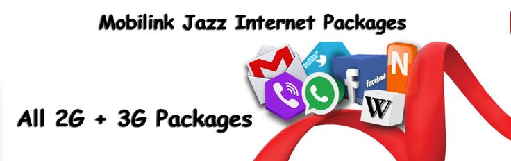 #All #Mobilink #Jazz #Internet #Packages Both #2G & #3G
