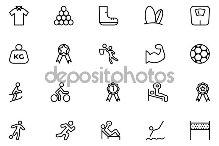 depositphotos_80927474-stock-illustration-sports-outline-vector-icons-6.jpg (1023×682)