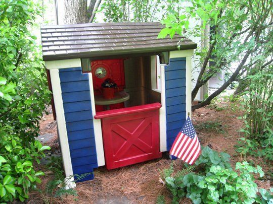 Reader Project Update: How Does Paint Hold Up On Plastic Playhouses?