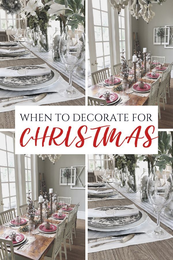 When To Decorate For Christmas Ideas Holiday