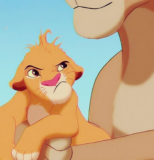 """Ma, you're messing up my mane!"""