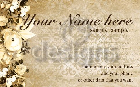 Digital Business Calling Card Elegance Template No 6