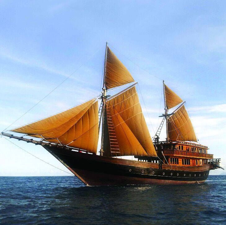 The Golden Dragon on the Java Sea ~ Female Pirate Captain Ching Shih 鄭氏…