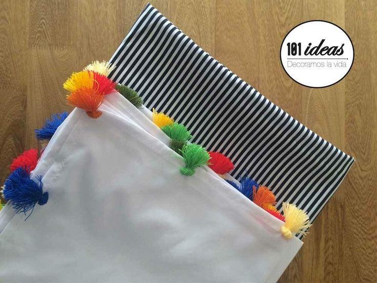 Mantel y sobre-mantel para fiestas infantiles. 101ideasco