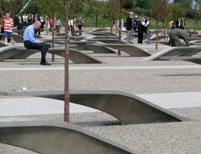 Gravelpave2   porous pavement at the Pentagon Memorial