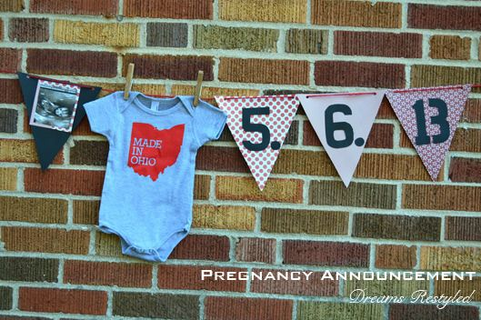 Pregnancy Announcement on Dreams Restyled