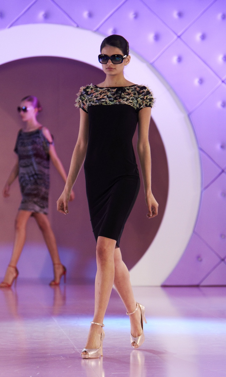 Little black dress with AWW for Chop til you Drop Spring Lamb @ 30 Days of Fashion and Beauty