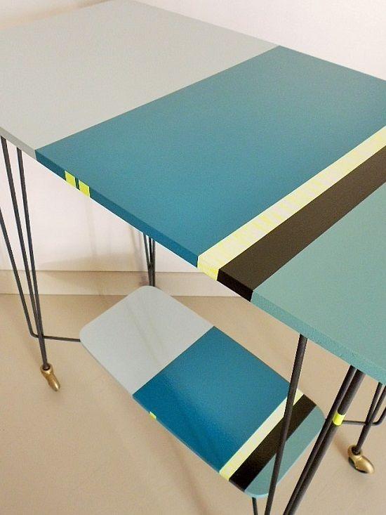 Table TV sur roulettes  Collection Hossegor  Peps et furieusement moderne. @karinerolland @unepein @ressourcedeco