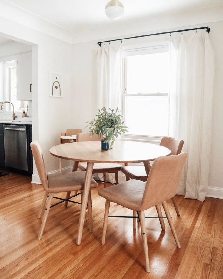4 Steps To Create A Minimalist Dining Room Dining Room Spaces