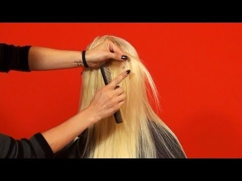 How to Cut Layers into Human Hair Extensions Tutorial Video- DoctoredLocks.com