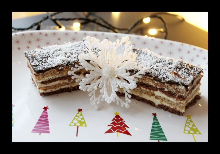 Coconut bisquit cake