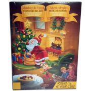 Joulun odotus sujuu mukavammin suklaajoulukalenterin avulla. Tämä suklaakalenteri ainoastaan 1,00 €. Sinunkin mielestä edullinen?