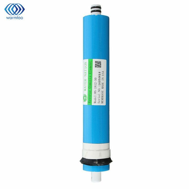 Nice 50 GPD RO Membran Umkehrosmose Wasser System Filter Reinigung  Wasserfiltration Reduzieren Bakterien Home Küche