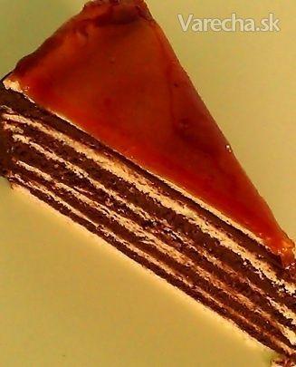 Dobošová torta originál (fotorecept)