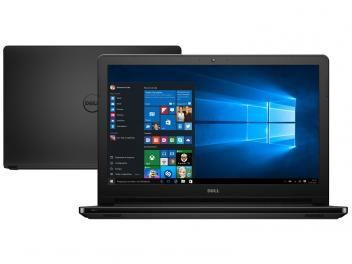 "Notebook Dell Inspiron i15-5566-A10P Intel Core i3 - 4GB 1TB LED 15,6"" Windows 10"
