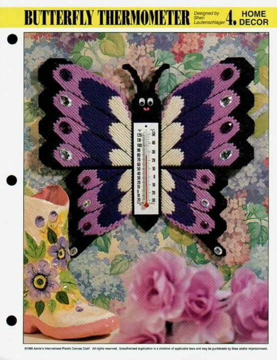 Butterfly Thermometer 1/2