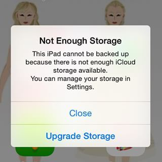 You get notifications like this ALL. THE. TIME.   An Easy iPhone Tip For Everyone Whose iCloud Account Is Full