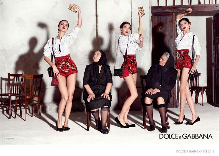 Dolce & Gabbana 2015 Spring/Summer Ad Campaign