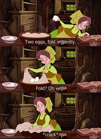 Flora, Fauna, and Merriweather had the best (and most) scenes... and that's why Sleeping Beauty should have been called The Three Fairies.