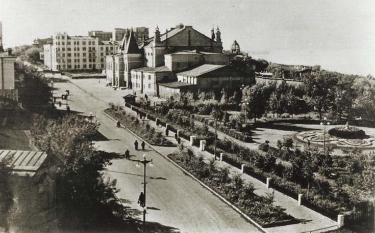 Samara, Russia. Пушкинский сквер, Самара, 1950 е гг. #samarasuper