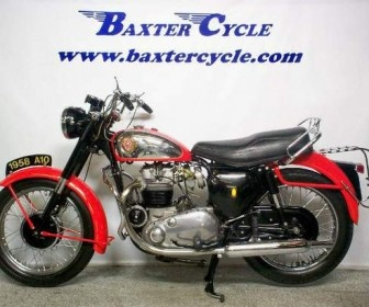 Used Bsa 1958 A10 road rocket Antique-Vintage Motorcycles available for sale by Baxter cycle for $ 8495 in Marne, IA, USA at USAMotorBike.Com