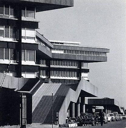 Ignazio Gardella - Palazzo Uffici Alfa Romeo, Arese 1972