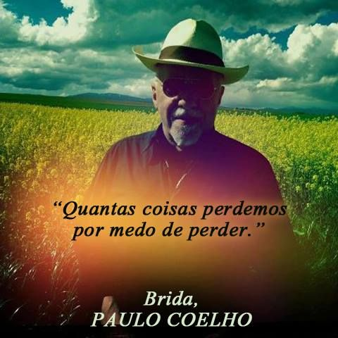 Paulo Coelho/  We lose many things simply out of our fear of losing them. (Brida) https://www.facebook.com/photo.php?fbid=10151794405916211=a.241365541210.177295.11777366210=1