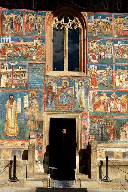 Voronet Monastery, Southern Bucovina, Romania