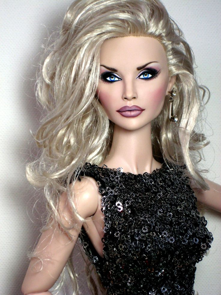 Fashion Royalty Integrity 16 Hanne Erikson OOAK Doll repaint