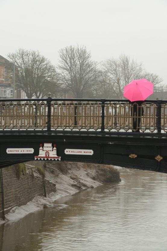 Bridgwater town bridge.