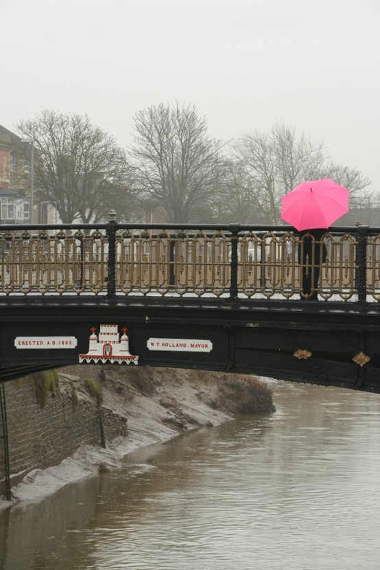 Bridgwater town bridge.