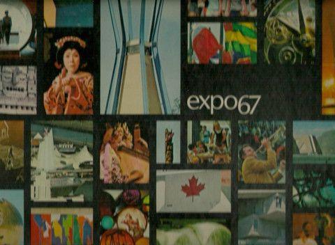 COLLECTIF. Expo 67 Montréal Canada (Dédicacé) (Coffret: un volume sous étui). L'album-mémorial de l'Exposition universelle et international de première catégorie tenue à Montréal du vingt-sept avril au vingt-neuf octobre mil neuf cent soixante-sept.