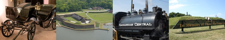 The Roundhouse Railroad Museum in Savannah, GA is a must see. Even our Little A enjoyed it!