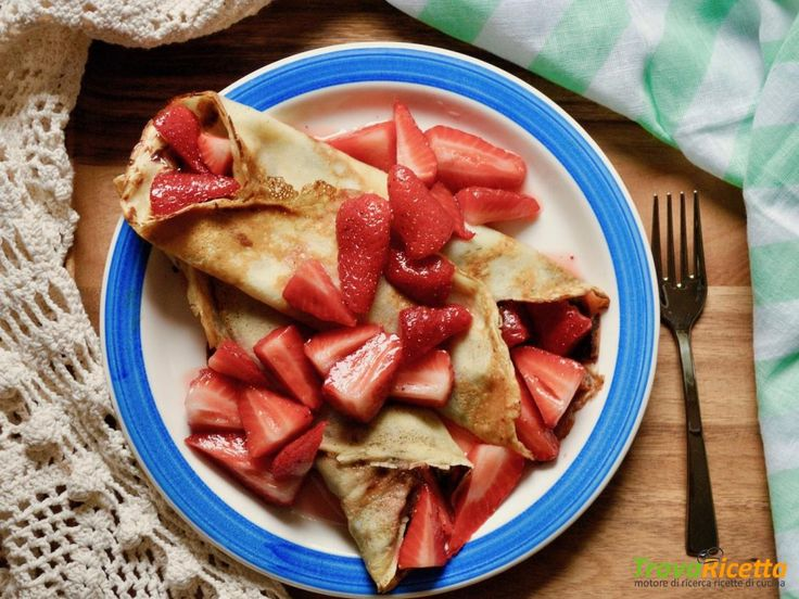 Ricetta crepes francesi dolci  #ricette #food #recipes