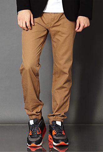 Drawstring Jogger Pants | 21 MEN - 2000110817
