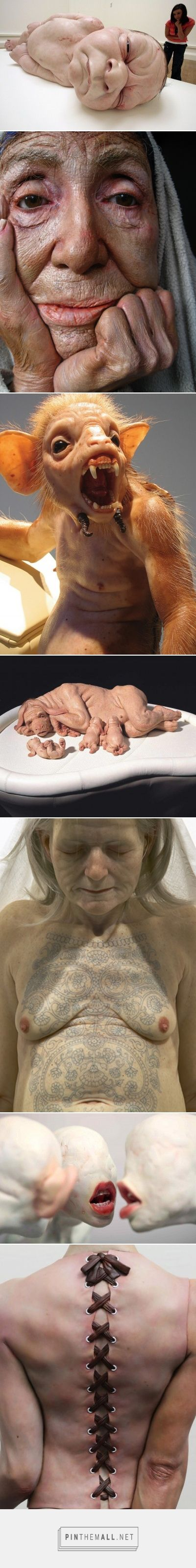 Collection of hyper realiste Artists over the World : Xooang Choi, Ron Mueck, Patricia Piccinini, Sam Jinks for the most famous of them and much others… Visit the page.