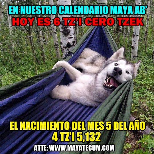 Feliz comiennzo del Quinto Winal (mes Maya) para usted, donde quiere que se encuentre que Ajaw Ucux Kaj, Ucux Ulew le bendiga grandemente: Sinceramente: http://mayatecum.com/