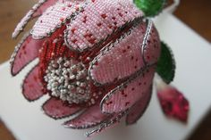 Beaded protea bought in South Africa