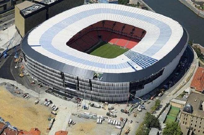 Estadio de San Mamés.  #sanmames #arquitectura #construccion #estructuras #paisvasco #bilbao #futbol #estadio #architecture #construction #soccer #stadium #basquecountry