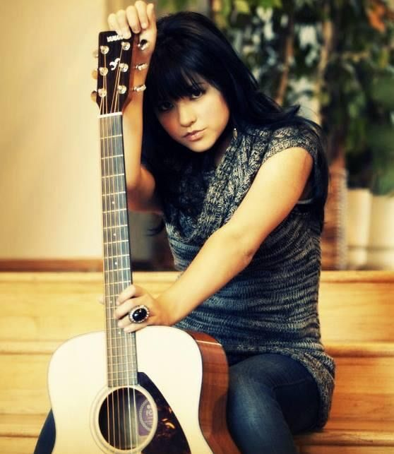Becky g played the guitar when she was little