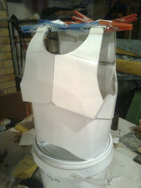 Cardboard DIY storm trooper