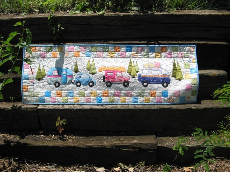 Image result for quilted camper table runner